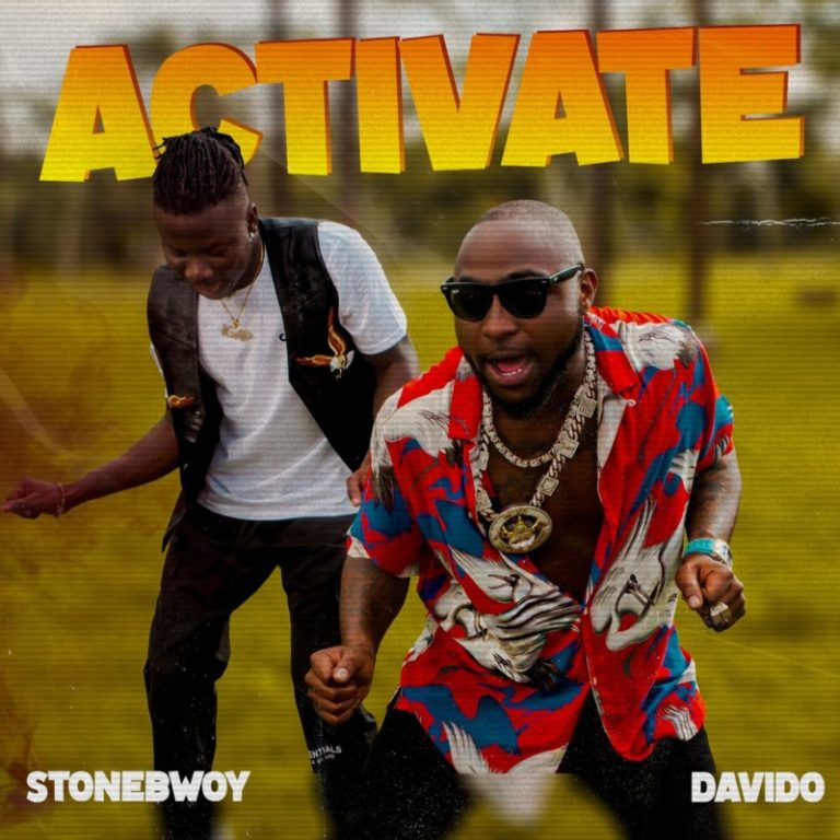 Activate by Stonebwoy ft Davido gets social media ablaze.