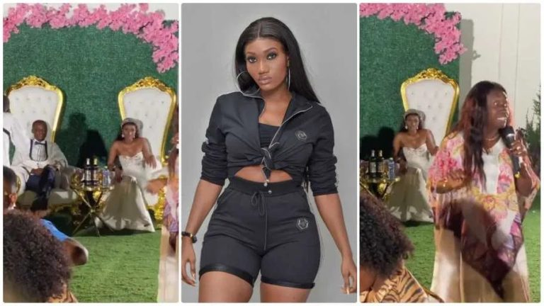 Video from Wendy Shay's wedding drops.